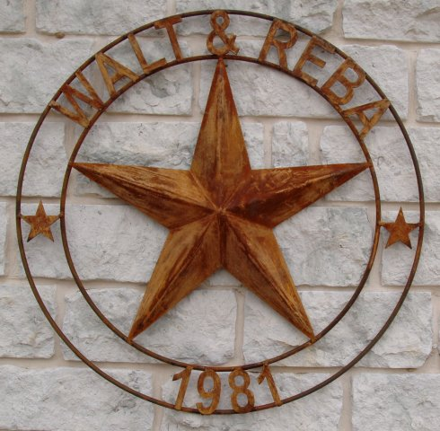 Texas Star Wall Art metal art signs texas cutouts wall art