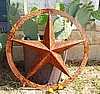 "3D Star 18"" with 1-1/2"" flat ring"