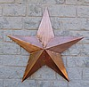 "Copper Star 3D 40"" dia"