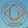 Rustic Lucky Diamond Ranch sign