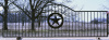 16 ft gate double sided Texas Star in center