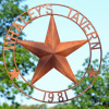 Whaley's Tavern Double ring Texas Star