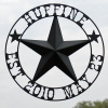Texas Barn Star Personalized with wedding date
