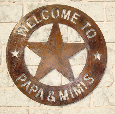 Metal Art Signs Texas Cutouts Wall Art