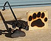 "Custom Branding Iron ""Bear Claw"""