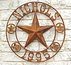 Custom Texas Star Ranch sign