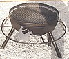 "30"" Firepit Grill with Choppers(motorcyles)"