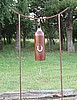 Horseshoe Wind Gong Bell with stand