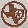 "Circle Texas with Star 20"" dia."