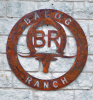 Longhorn Balog Ranch Sign