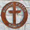 Rugged Cross Rough Patch Ranch sign